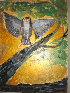 """Landing Owl""by Michel Reynolds"